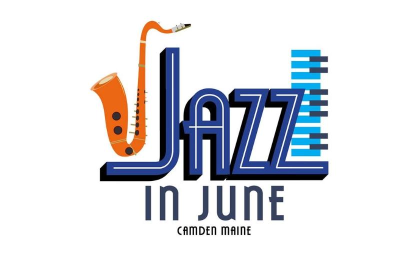 Jazz in June Camden Maine Events & Festivals - Logo