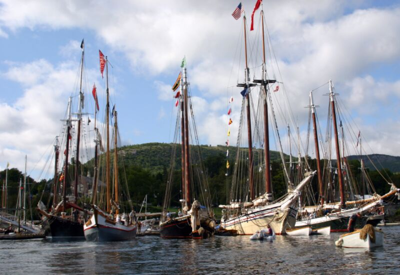 tips for making the most of the Camden Windjammer Festival