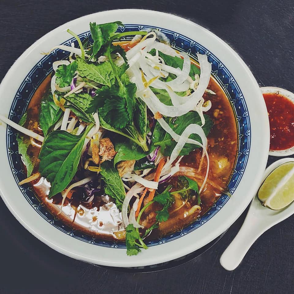 amazing Asian food at Long Grain Restaurant in Camden