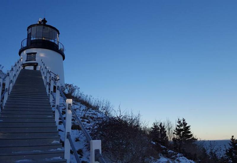 best lighthouse tours Camden Maine