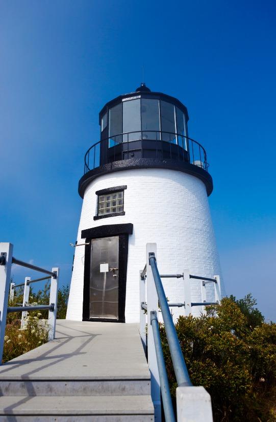 owls head light - camden maine lighthouse